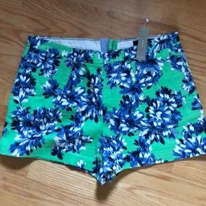 Jcrew print shorts